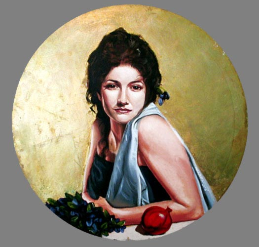 Michael McNamara paintings, Persephone